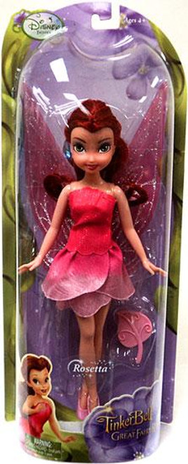 Disney Fairies Tinker Bell & The Great Fairy Rescue Rosetta 9-Inch Doll