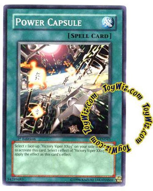 YuGiOh GX Enemy of Justice Common Power Capsule EOJ-EN043