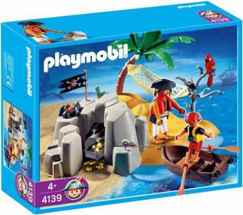 Playmobil Pirates Pirate Island Compact Set Set #4139