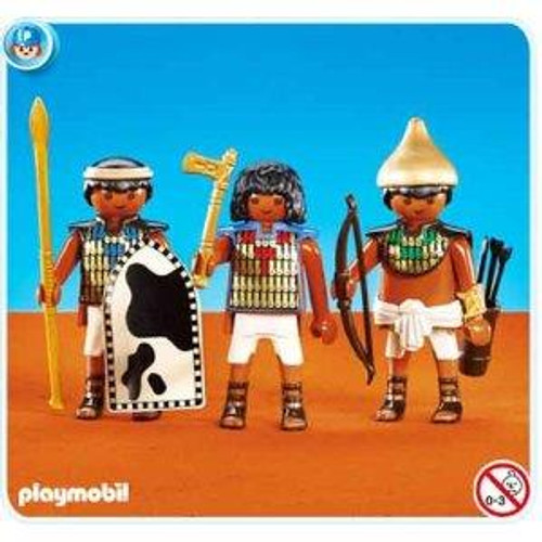 Playmobil Romans & Egyptians Soldiers of Pharaohs Set #7383