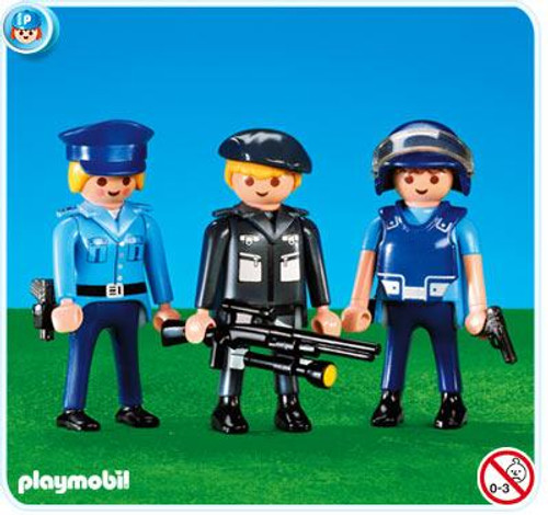 Playmobil 3 Police Officers Set #7385