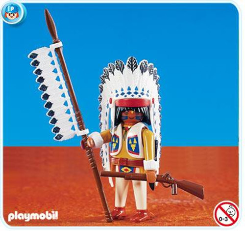 Playmobil Figures Native American Chief Set #7660