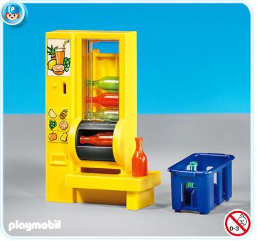 Playmobil Suburban Life Vending Machine Set #7931