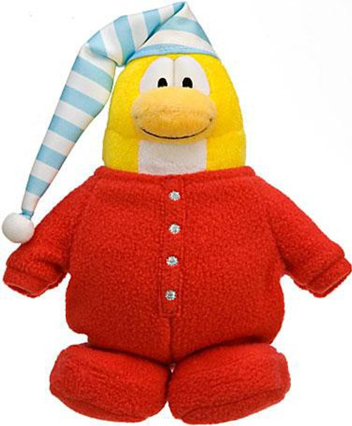 Club Penguin Series 10 Red Pajama 6.5-Inch Plush Figure [Version 3]