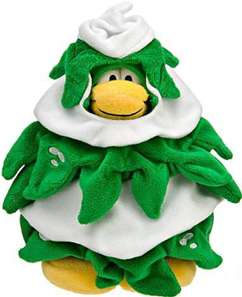 Club Penguin Series 10 Christmas Tree 6.5-Inch Plush Figure