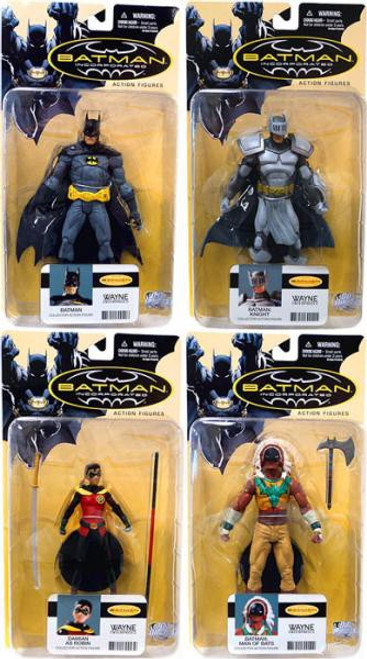 Batman Incorporated Series 1 Set of 4 Action Figures