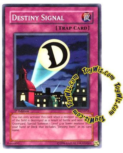 YuGiOh GX Enemy of Justice Common Destiny Signal EOJ-EN052