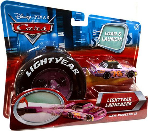 Disney Cars Lightyear Launchers Vinyl Toupee Diecast Car
