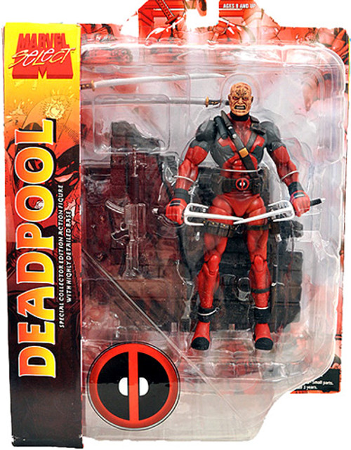 Marvel Select Deadpool Action Figure [Unmasked]