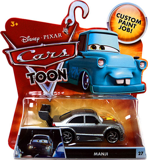 Disney Cars Cars Toon Main Series Manji Diecast Car #27