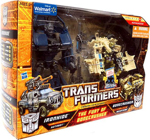 Transformers The Fury of Bonecrusher Exclusive Action Figure 2-Pack