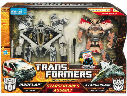 Transformers Starscream's Assault Exclusive Action Figure 2-Pack