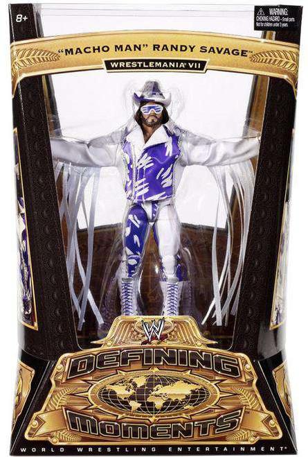 WWE Wrestling Defining Moments Series 1 Macho Man Randy Savage Action Figure
