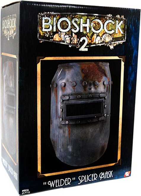 NECA Bioshock 2 Welder Splicer Mask Roleplay Toy