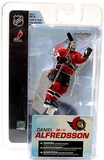 McFarlane Toys NHL Ottawa Senators Sports Picks 3 Inch Mini Series 4 Daniel Alfredsson Mini Figure