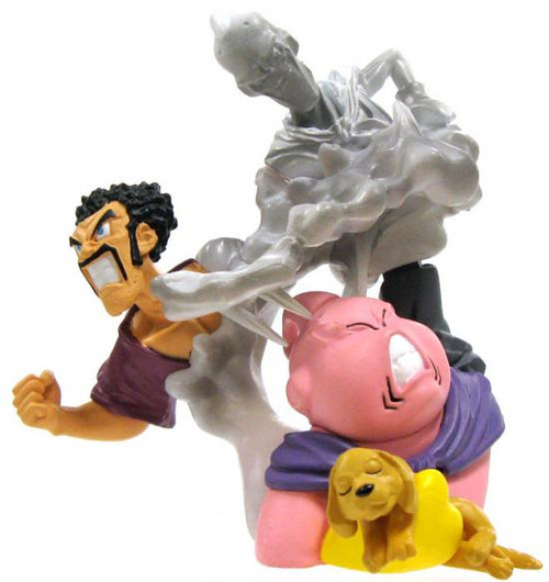 Dragon Ball Z Imagination Majin Buu, Hercule Evil Buu and Dog PVC Figure