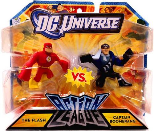 DC Universe Action League The Flash vs. Captain Boomerang 3-Inch Mini Figures