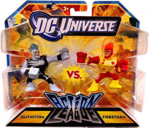 DC Universe Action League Deathstorm vs. Firestorm 3-Inch Mini Figures