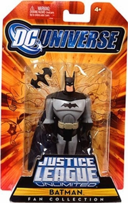 DC Universe Justice League Unlimited Fan Collection Batman Action Figure [Black & Gray Costume]