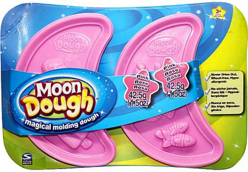 Moon Dough Magical Molding Dough Pink Exclusive 2-Pack