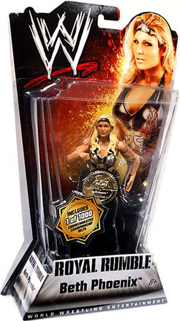WWE Wrestling Royal Rumble Series 1 Beth Phoenix Action Figure [With Belt]