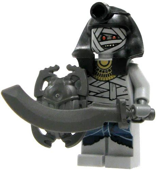 LEGO Pharaoh's Quest Loose Mummy Warrior Minifigure #1 [Loose]