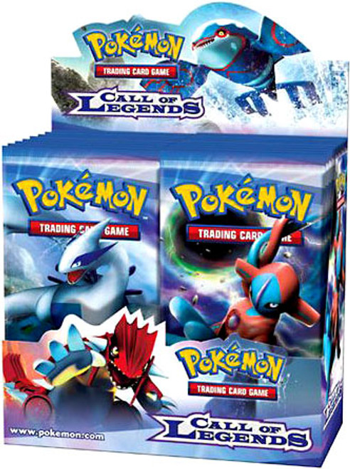 Pokemon Call of Legends Booster Box [36 Packs] [Sealed]