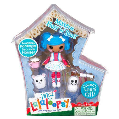 Lalaloopsy Mittens Fluff 'n' Stuff 3-Inch Mini Figure