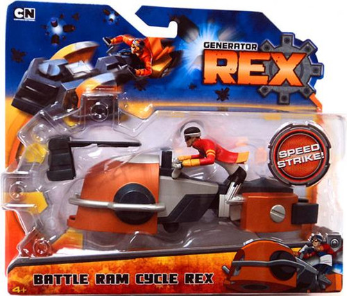 Generator Rex Battle Ram Cycle Rex [Speed Strike]