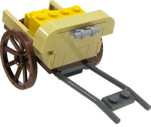 LEGO Indiana Jones Items Bazaar Market Cart [Loose]