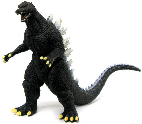 Super Deformed Tokyo Final Wars 2005 Godzilla 6-Inch Vinyl Figure [Loose]