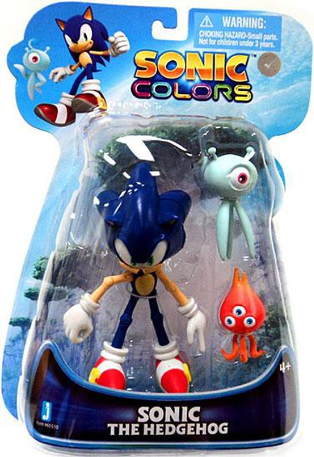 Sonic The Hedgehog Sonic Colors Sonic Action Figure [With Wisps]