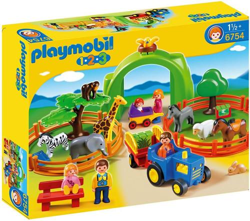 Playmobil Zoo Animal Clinic Large Zoo Set #6754