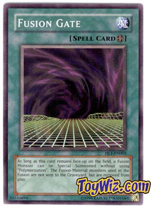 YuGiOh Hobby League Common Fusion Gate HL1-EN005
