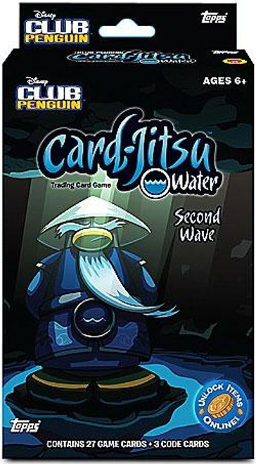 Club Penguin Card-Jitsu Water Series 5 Second Wave Expansion Deck