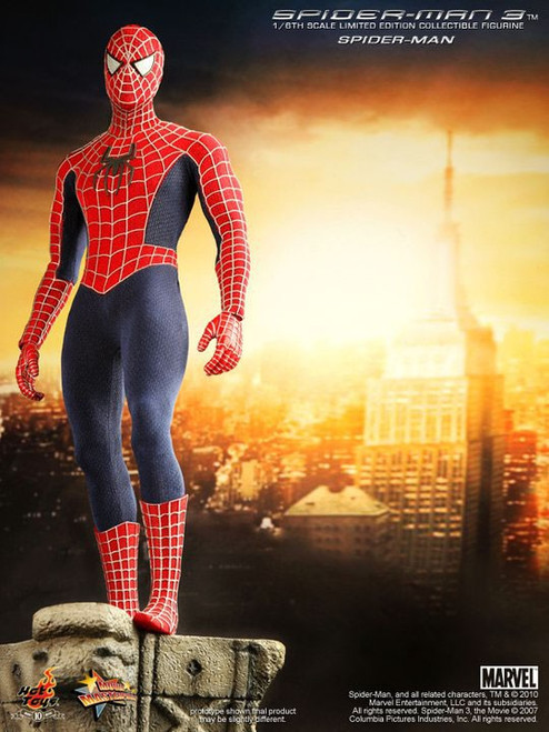 Spider-Man 3 Movie Masterpiece Spider-Man 1/6 Collectible Figure