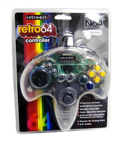 Nintendo REtro N64 Controller [Clear]