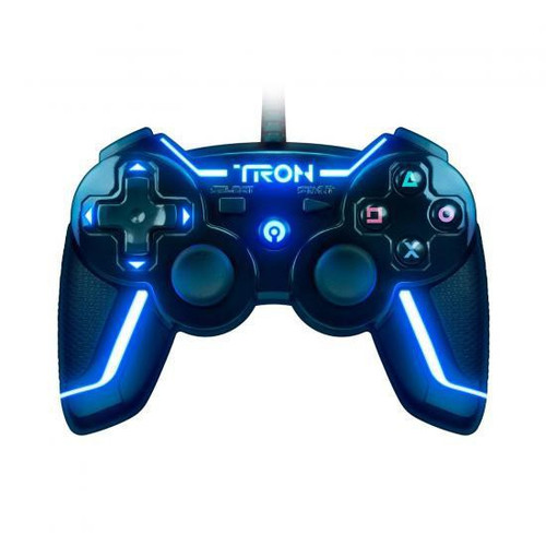 Playstation PS3 Tron Legacy Light Up Video Game Controller