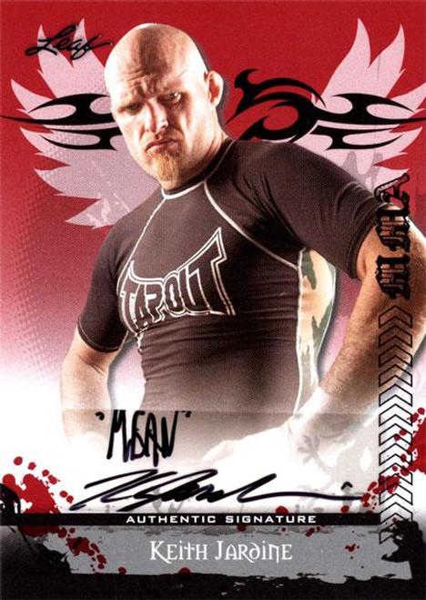 MMA Series 2010 Keith Jardine Autograph Card AV-KJ1