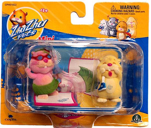 Zhu Zhu Pets Jilly & Pipsqueak Mini Figure 2-Pack