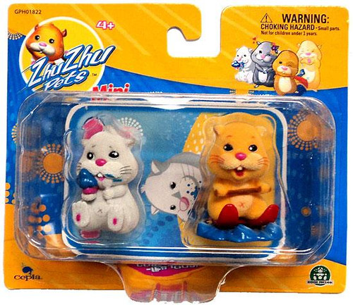 Zhu Zhu Pets Chunk & Patches Mini Figure 2-Pack