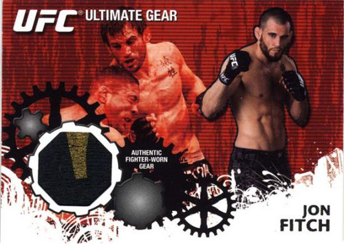 UFC 2010 Championship Ultimate Gear Relic Jon Fitch UG-JF
