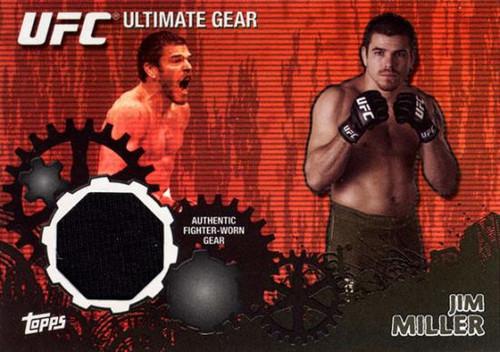 UFC 2010 Championship Ultimate Gear Relic Jim Miller UG-JM