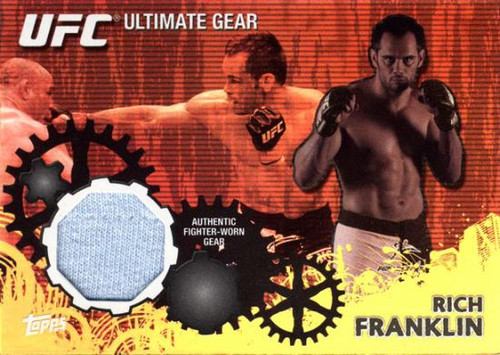 UFC 2010 Championship Ultimate Gear Relic Rich Franklin UG-RF