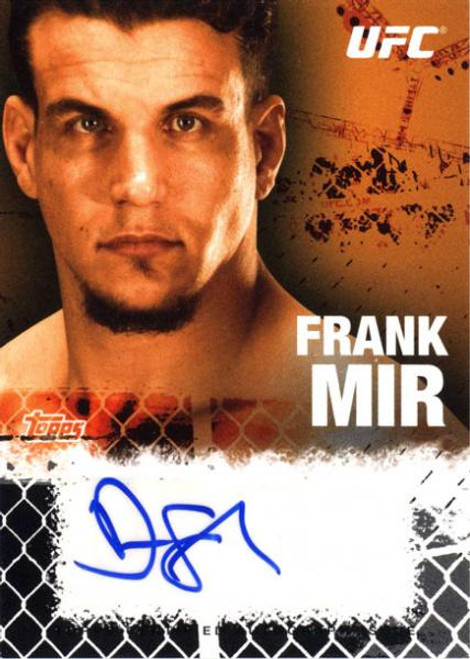 UFC 2010 Championship Autograph Fighters & Personalities Frank Mir FA-FM