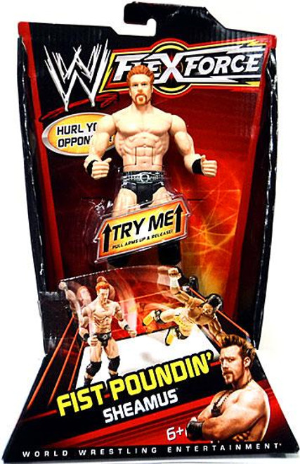WWE Wrestling FlexForce Series 1 Fist Poundin' Sheamus Action Figure