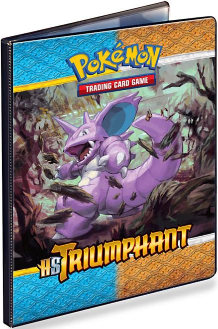 Ultra Pro Pokemon HeartGold & Soulsilver Triumphant 9-Pocket Binder