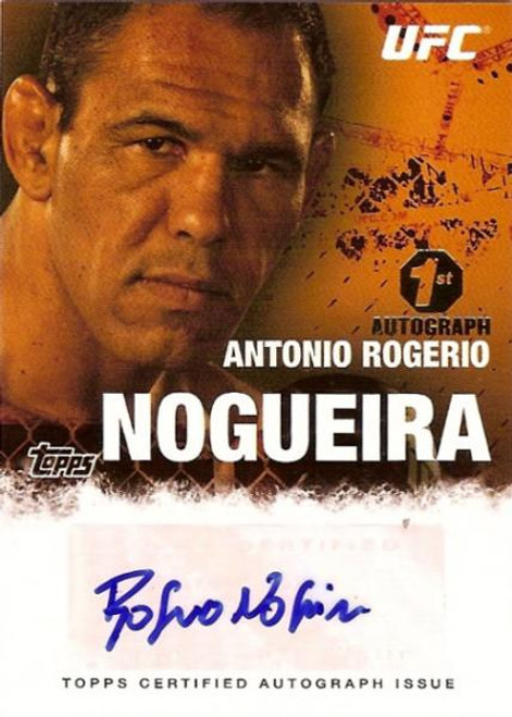 UFC 2010 Championship Autograph Fighters & Personalities Antonio Rodrigo Nogueira FA-ARN