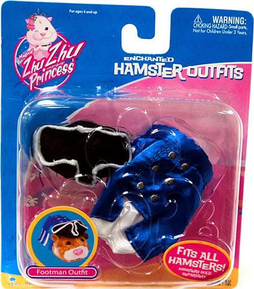 Zhu Zhu Pets Princess Enchanted Hamster Outfits Footman Accessory Set
