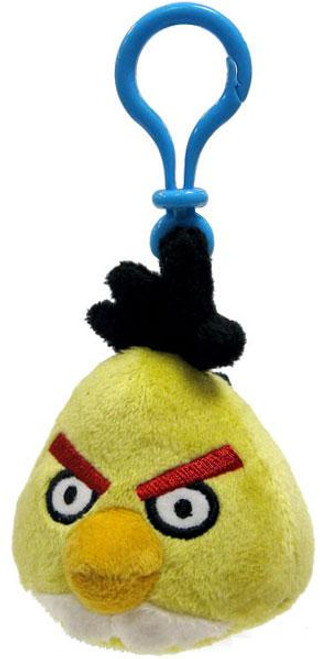 Angry Birds Yellow Bird 3-Inch Plush Backpack Clip